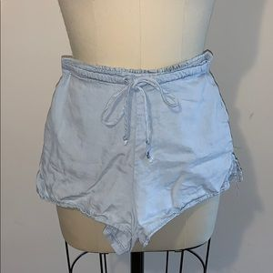 Urban Outfitters light blue lounge shorts